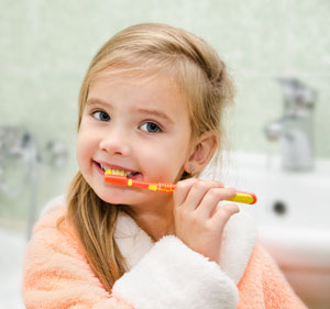Brushing Teeth - Pediatric Dentist in Mansfield, Tx
